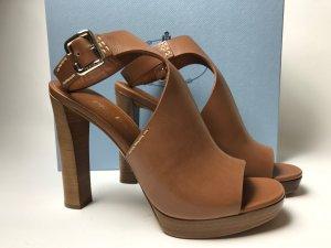 Prada Schuhe braun Gr. 40