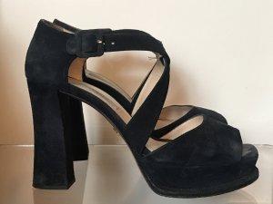 Prada Schuhe dunkelblau Gr 38,5