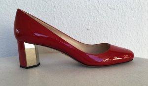 Prada, Schuhe, Lackleder, rosso, 40, neu, €650,-