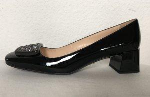 Prada, Schuhe, Lackleder, schwarz, EU 41, neu, € 750,-