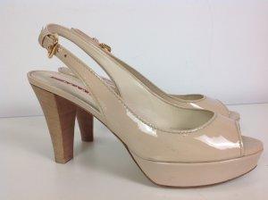 Prada Schuhe nude Gr. 37,5