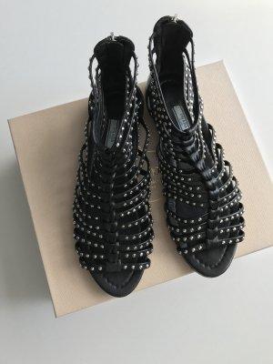 Prada Romeinse sandalen zwart