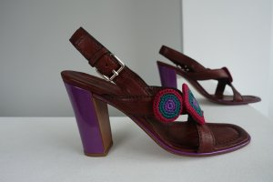 Prada High Heel Sandal multicolored leather