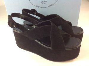 Prada Schuhe schwarz Gr. 36,5