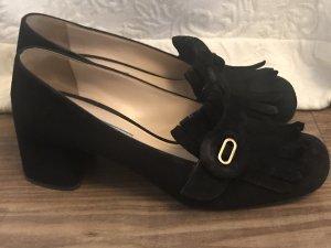 Prada Tacones Mary Jane negro