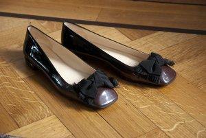 Prada Schuhe schwarz Lack Gr. 39