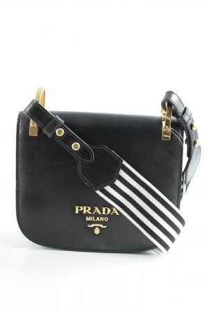 Prada Shoulder Bag black simple style
