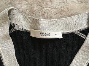 Prada Knitted Cardigan black silk