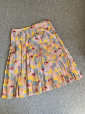 Prada Silk Skirt multicolored