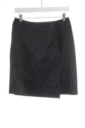 Prada Seidenrock schwarz-dunkelblau Elegant