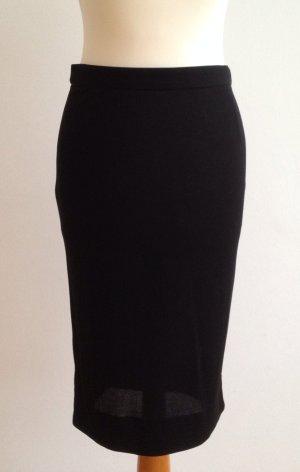 Prada Seidenrock schwarz Elegant