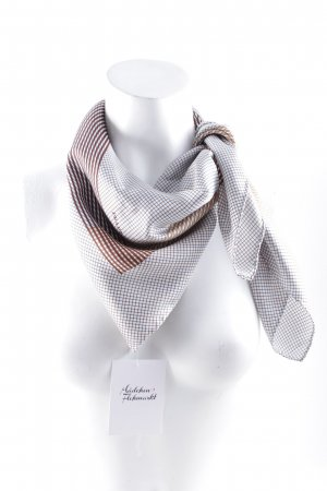 Prada Silk Cloth check pattern classic style