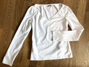 Prada Shirt weiß Longsleeve
