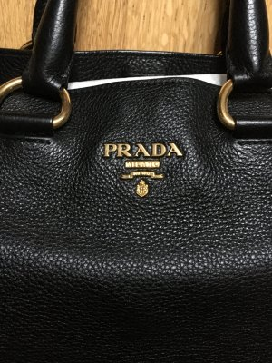 PRADA Shopper mit Tragegurt/ Crossbody black