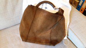 Prada Shopper brown suede
