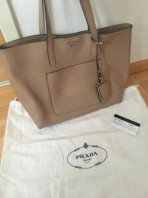Prada Shopping Bag City Calf Cammeo