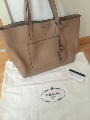 Prada Shopping Bag City Calf Cammeo