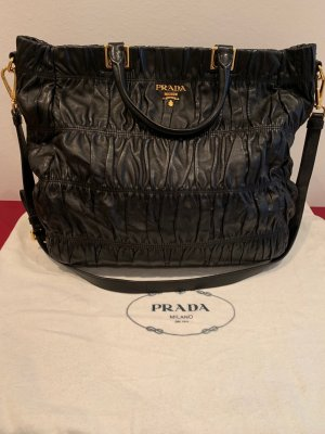 Prada Shopping Gaufre Nero Bag