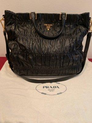 Prada Carry Bag black leather