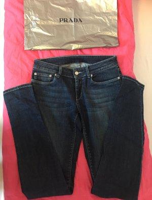 Prada skinny Jeans in blau