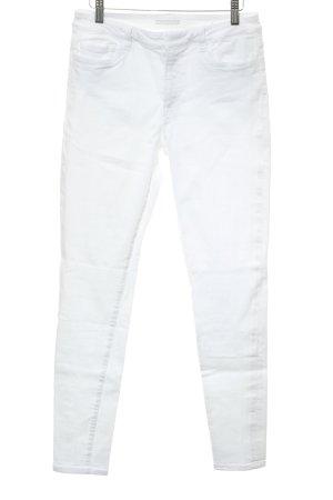 Prada Skinny jeans wit Webpatroon casual uitstraling