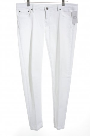 Prada Slim Jeans wollweiß Casual-Look