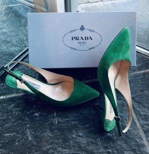 Prada Strapped Sandals multicolored