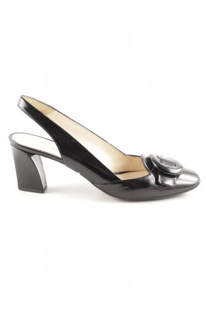 Prada Slingback Pumps black business style