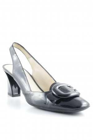Prada Slingback-Pumps schwarz Business-Look