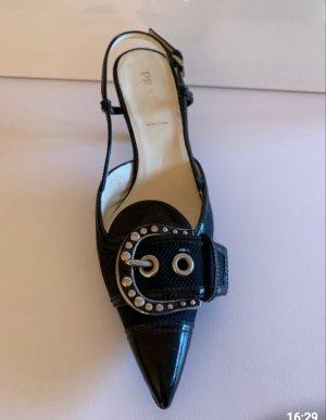 Prada Slingback pumps zwart