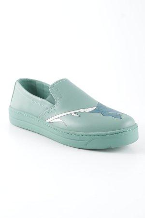 Prada Zapatos formales sin cordones estampado temático look Street-Style