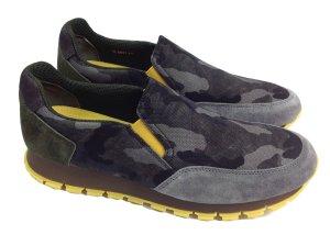 Prada Sneaker Camouflage gelb Gr. 39,5