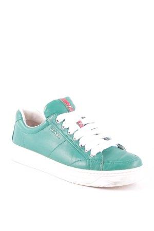 Prada Sneakers met veters veelkleurig atletische stijl