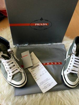 Prada Sneaker mit Rechnung Staubbeutel Schuhbox