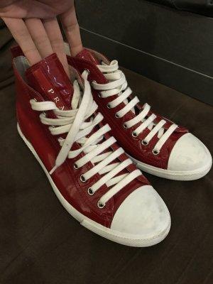 Prada sneaker rot Lack