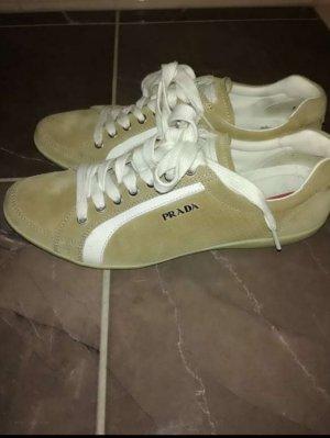Prada Sneaker alta beige