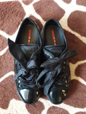 Prada Sneakers Lack Schwarz in 38,5