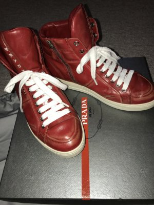 Prada Sneakers vintage rot Gr. 37