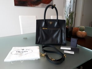 Prada Bag black-gold-colored leather