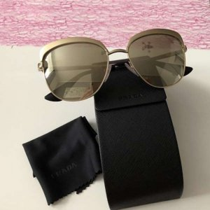 Prada Sunglasses gold-colored-beige