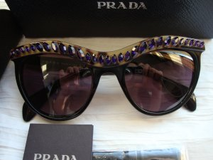 Prada Sonnenbrille 100% Original mit Swarovski Steine TOP WIE NEU!!!