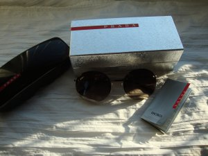 Prada Round Sunglasses multicolored stainless steel