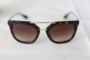Prada Angular Shaped Sunglasses multicolored