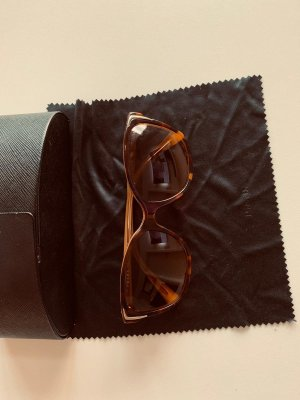 Prada Butterfly bril zwart-brons