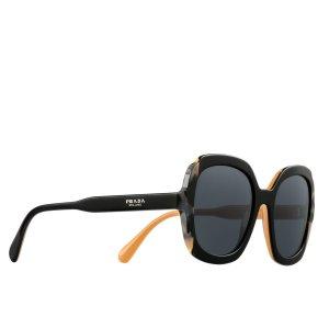 Prada Round Sunglasses multicolored synthetic fibre