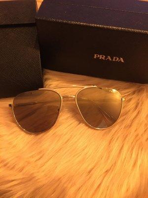 Prada Glasses gold-colored