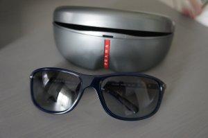 Prada Angular Shaped Sunglasses dark blue