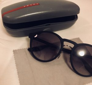 Prada Ronde zonnebril grijs-antraciet