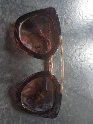 PRADA Sonnenbrille . braun . gold . TOP