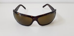 Prada Angular Shaped Sunglasses dark brown